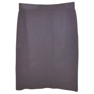 Emanuel Ungaro Black Parallele  Pencil Skirt